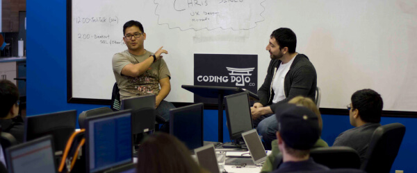Coding Dojo bootcamp Tech talks